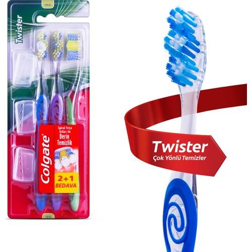 Colgate Diş Frıçası Twister Orta 2+1