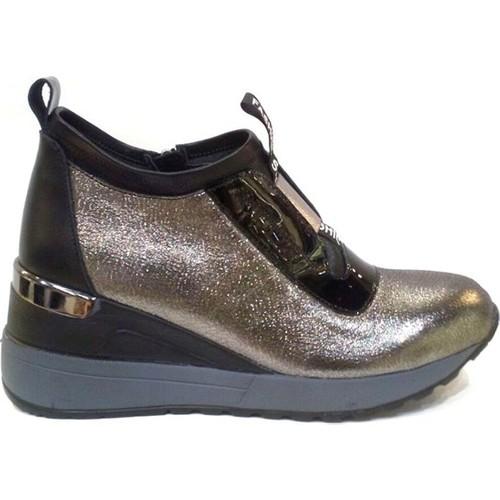 Shop And Shoes 150-1089 Platin Kadın Bot