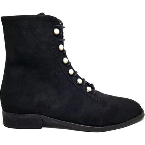 Shop And Shoes 172-6115 Siyah Kadın Bot