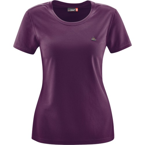Maıer W T-Shirt S/S 252300 / Koyu Mor - 36
