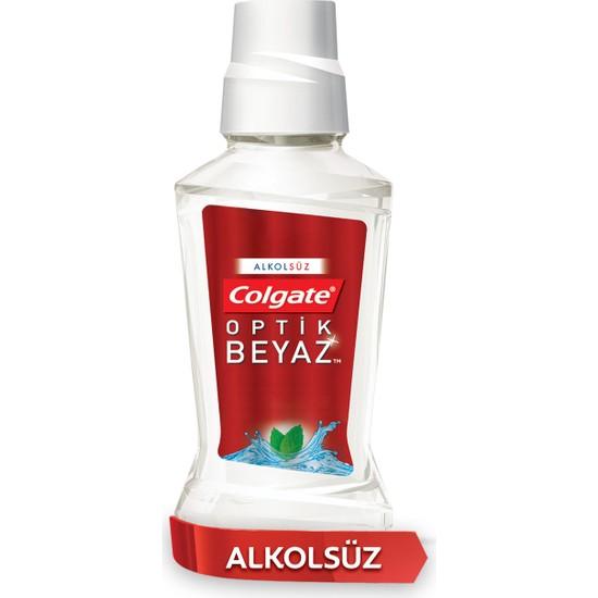 Colgate Plax Optik Beyaz Alkolsüz Gargara Ağız Bakım Suyu 250 ml