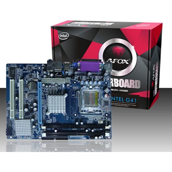 Afox IG41-MA6 Intel LGA775 G41 DDR3+DDR2 MicroATX Anakart