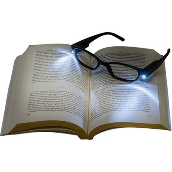 Mudosa Led Işıklı Kitap Okuma Gözlüğü