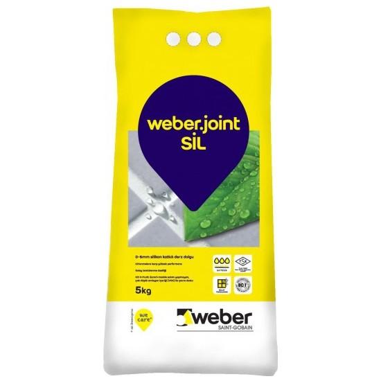 Weber Silikonlu Derz Dolgusu 5 Kg Beyaz
