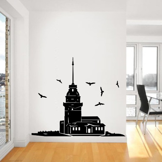"Bisticker S-155 ""Kız Kulesi"" Duvar Sticker"