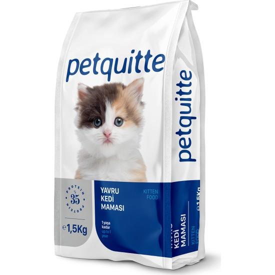 Petquitte Tavuk Etli Yavru Kedi Maması 1,5 Kg