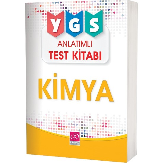 Ygs Kimya Anlatımlı Test Kitabı