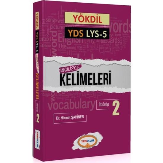 Yediiklim Yayınları YÖKDİL YDS Lys 5 İngilizce Kelimeleri 2