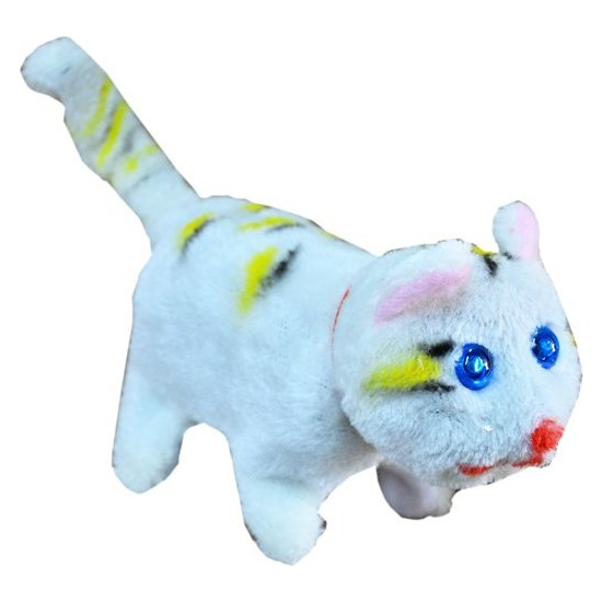 Can Oyuncak Yürüyen Pilli Kedi