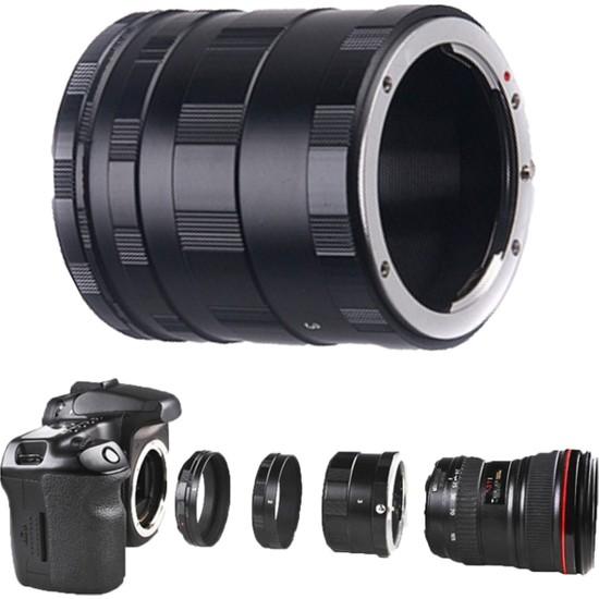 Haskan Canon 600D Fotoğraf Makinesi İçin Makro Uzatma Tüpü