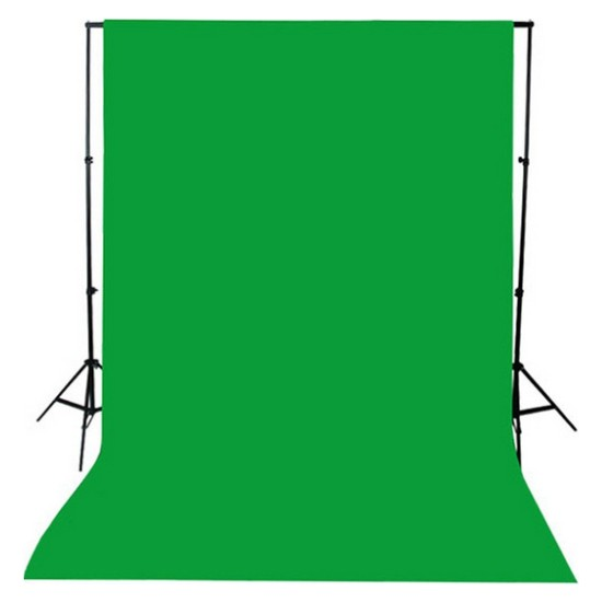 Greenbox Chromakey- Green Screen Greenbox Yeşil Fon Perde(1.5 X 2 M)