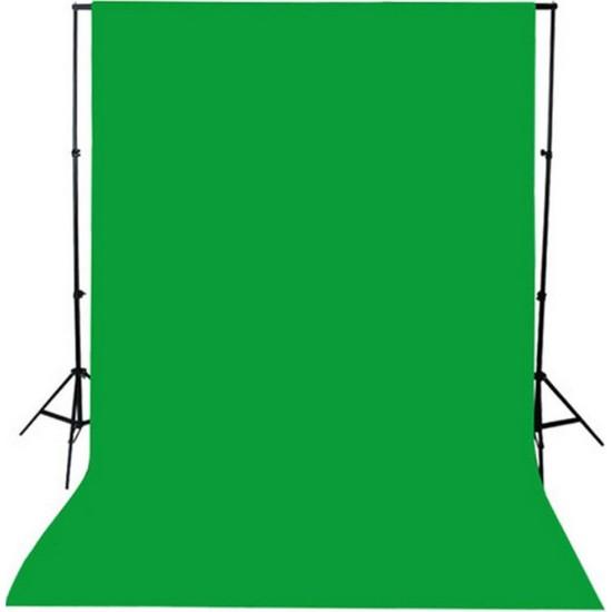Greenbox Chromakey- Green Screen- Greenbox- Yeşil Fon Perde(2 X 3M)