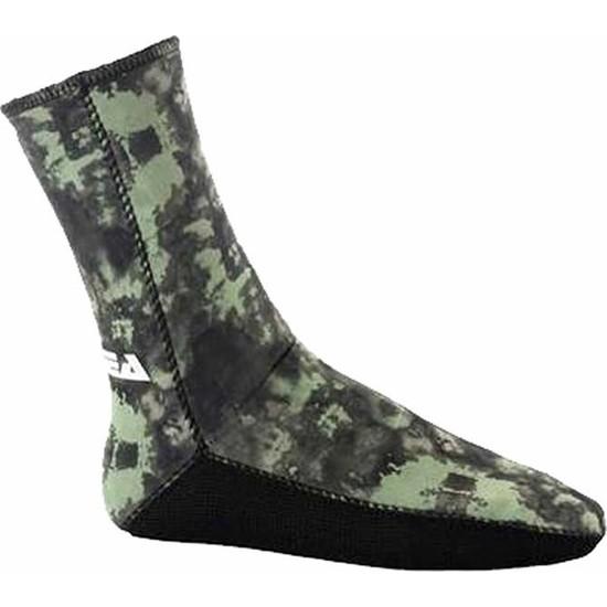Apnea 5 mm Çorap İçi Dışı Jarse Kamuflaj
