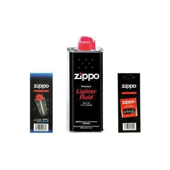 Zippo Benzin Çakmak Benzini Taş Fitil Set Fırsat
