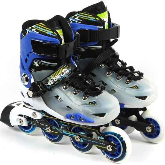 Delta Urban Inline Skate Silikon Teker Alüminyum Paten