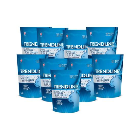 Trendline Silika Kristal Kedi Kumu 3,6L x 9 adet