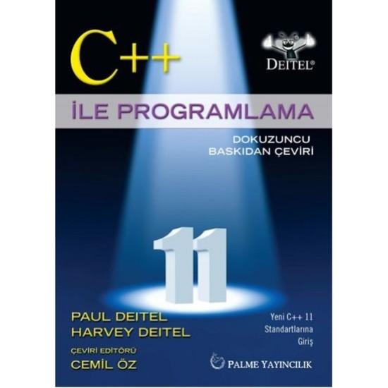 C++ İle Programlama - Paul Deitel