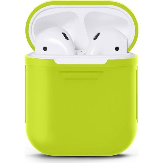 Case 4U Apple Airpods Silikon Kılıf Yeşil