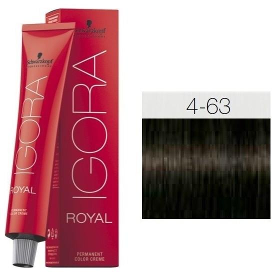 İgora Royal Saç Boyası 4.63 Kahve Mat Çikolata