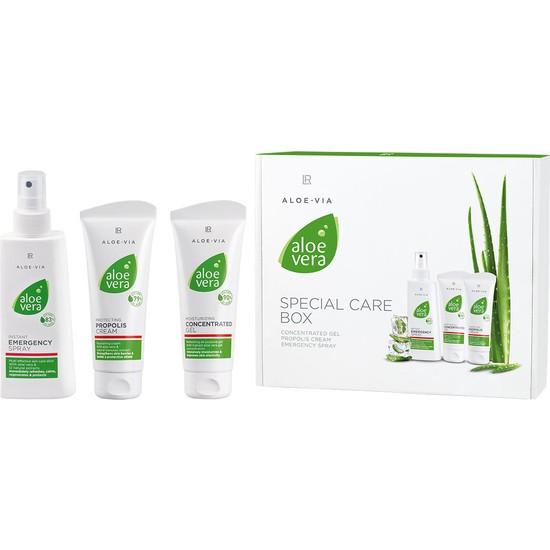 Lr Aloe Via Aloe Vera Box 3Ü Bir Arada Set (Acil Bakım Seti)