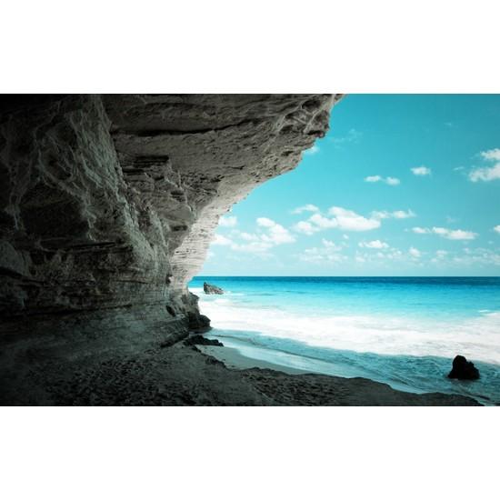 Deniz Kenarı 4 - 3 Boyutlu Duvar Kağıdı