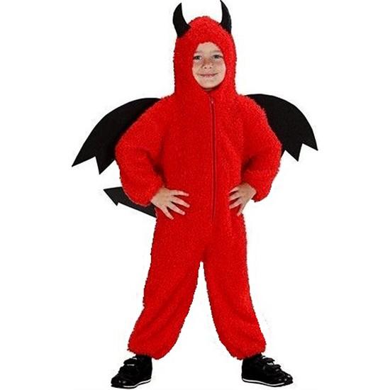 Kostümce Şeytan Kostümü Erkek Çocuk