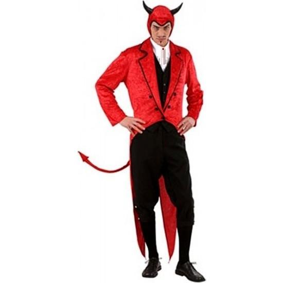 Kostümce Şeytan Kostümü Yetişkin Erkek