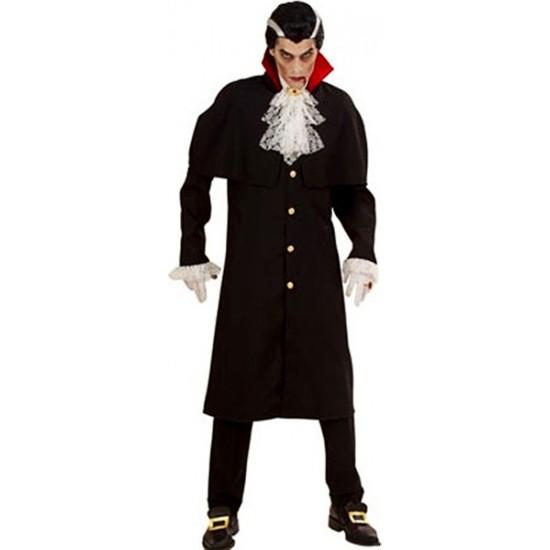 Kostümce Halloween Drakula Kostümü