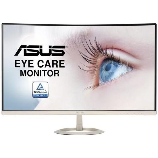 "Asus VZ27VQ 27"" 5ms (Analog+HDMI+Display) FHD VA Curved Monitör"