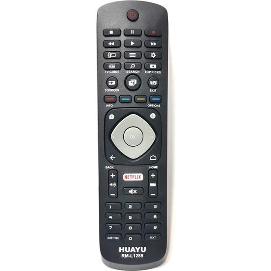 Phılıps 3D Led Tv Uyumlu Netflix Tuşlu Kumanda Rm-1285