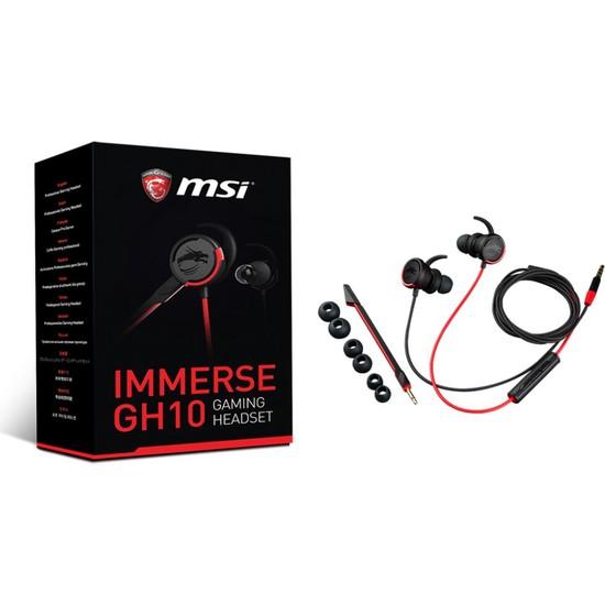 MSI Immerse GH10 Oyuncu Headset Kulaklık