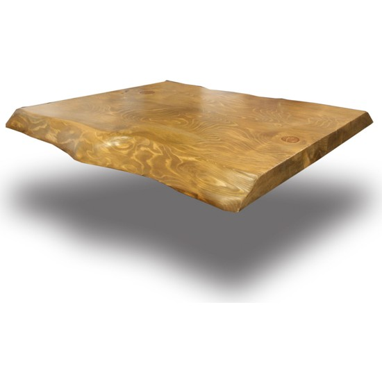 SZN Wood Kütük Masa Ladin Wake 110x80cm