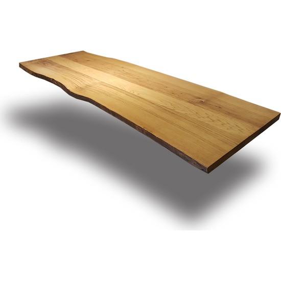 SZN Wood Kütük Masa Kestane Alex 230x80cm