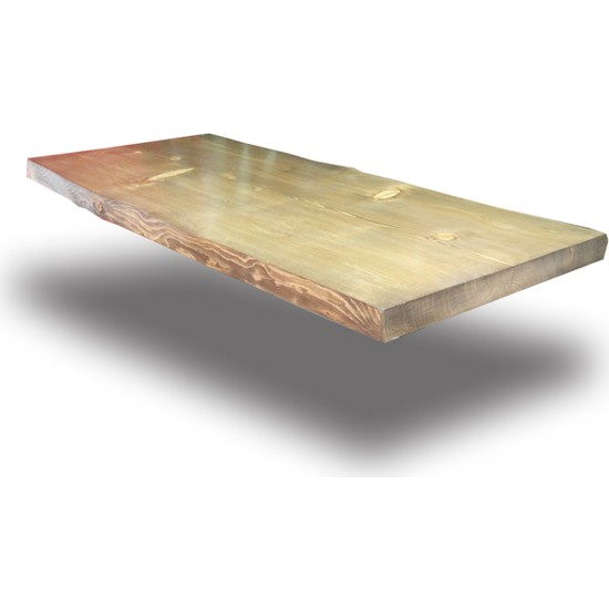 SZN Wood Kütük Masa Ladin Veldo 160x70cm