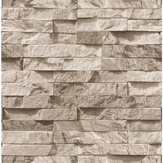 9300 Taş Desenli Duvar Kağıdı