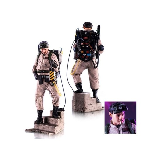 Iron Studios Ghostbusters Ray Stantz Art Scale Statue