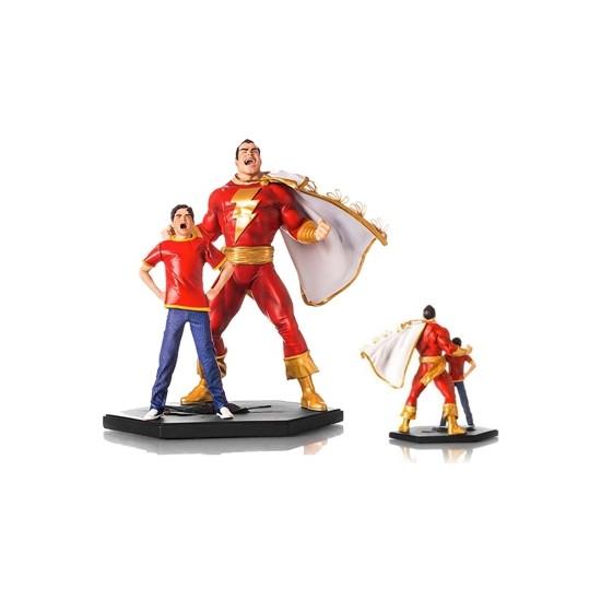 Iron Studios Dc Comics: Shazam Deluxe Art Scale Statue
