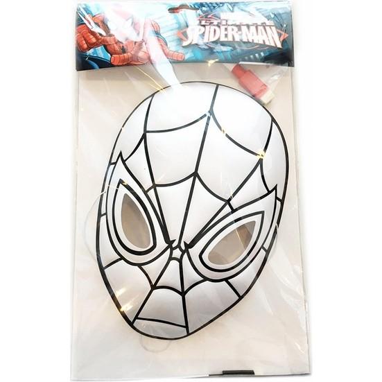 Spider Man Sm 16002 Boyama Seti Maske Fiyati Taksit Secenekleri