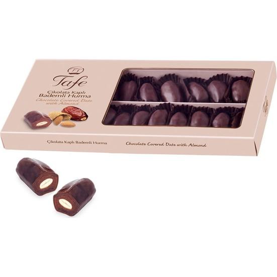 Tafe Çikolata Kaplı Bademli Hurma 225 gr
