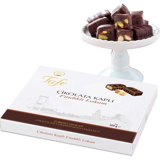 Tafe Çikolata Kaplı Fındıklı Lokum 300 gr