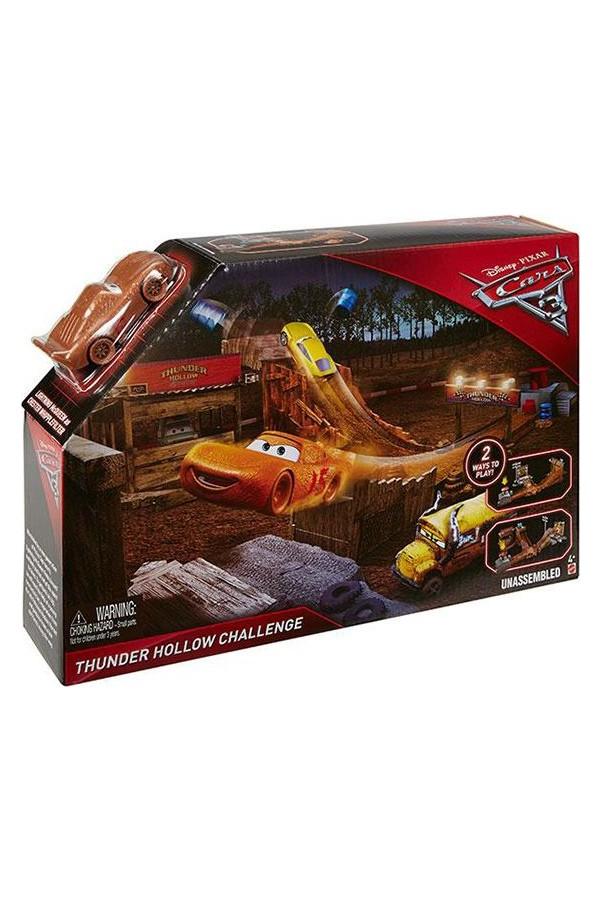 Mattel Cars Dvt46 3 Movie Scenes Game Set - Cars Movie 3
