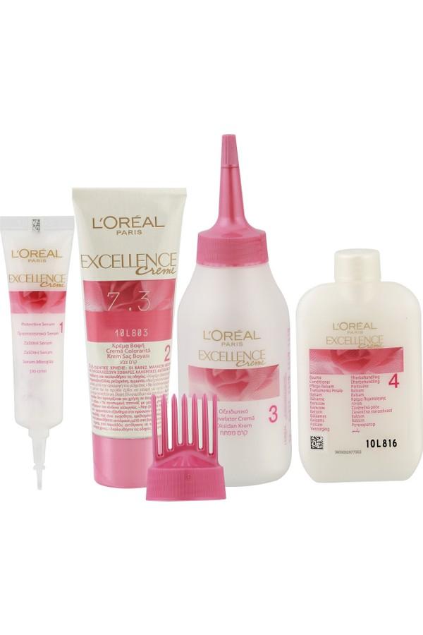 Loreal Paris Excellence Creme Hair Color 7.3 Dark Golden Blonde