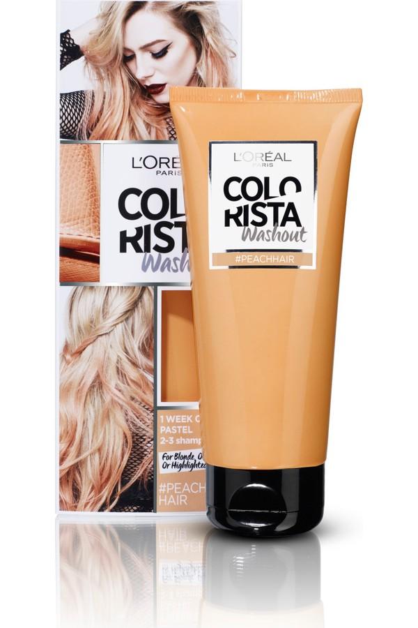 Loreal Paris Colorista Washout Semi-Permanent Peach Hair Color