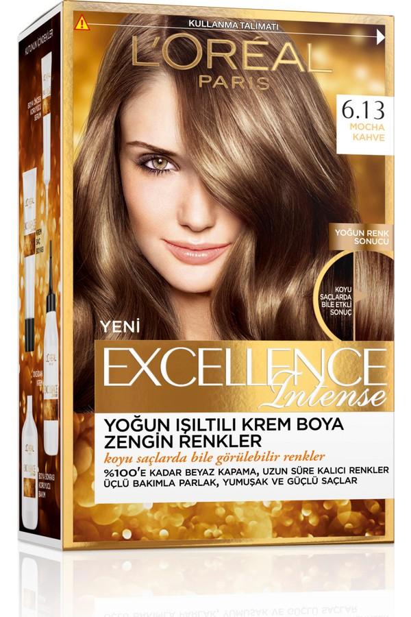 Loreal Paris Excellence Intense Hair Color 6.13