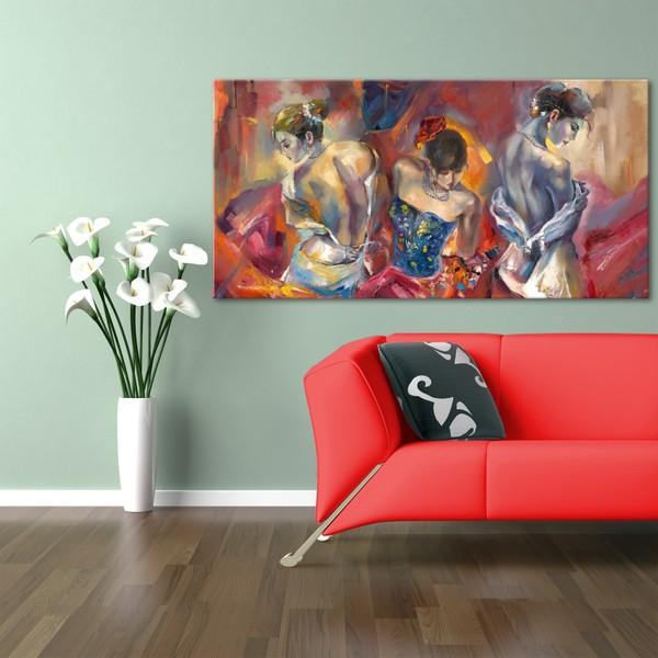 hepsiburada home kadınlar kanvas tablo