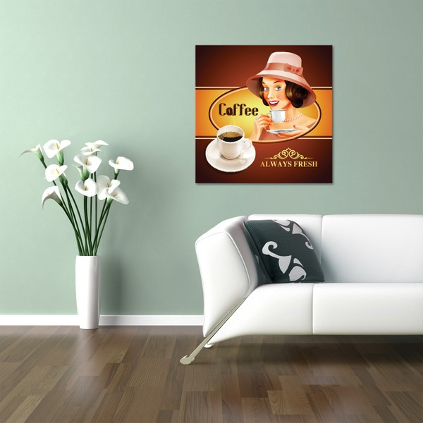 hepsiburada home coffee kanvas tablo