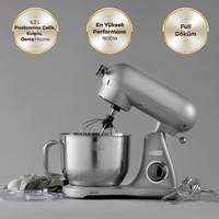 Karaca Powercast Chef Döküm Stand Mikser 1800W Mutfak Şefi Silver