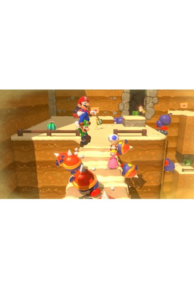 Super Mario 3D World + Bowser's Fury Switch Oyun