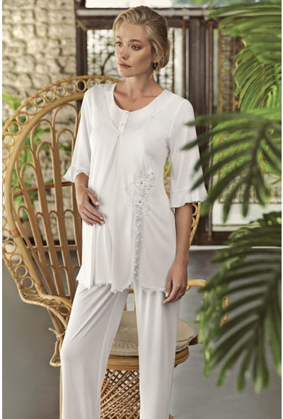 Artış Kadın Lohusa Pijama Takımı 10216 21Y