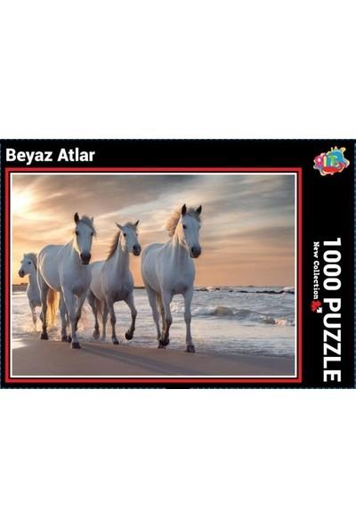 Ritoys Beyaz Atlar 1000 Parça Puzzle Yapboz